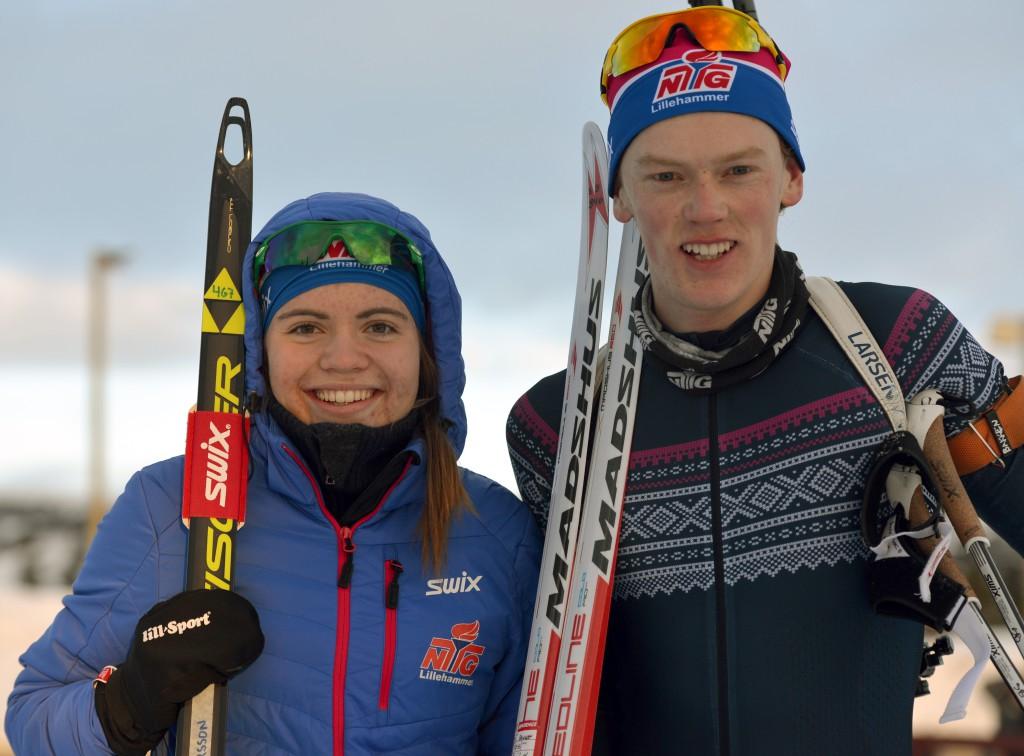 Persson og Bakken seier sprint